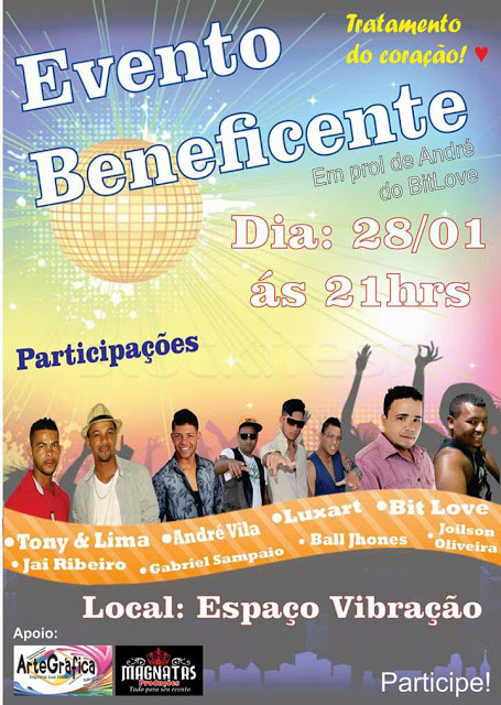 Evento beneficente